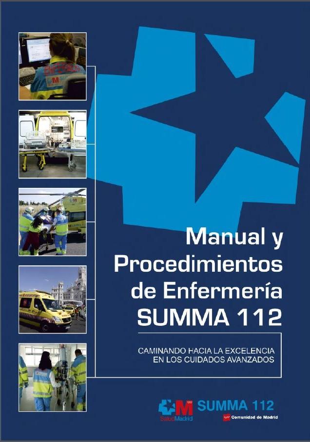 Manual y procedimientos enfermería SUMMA 112